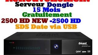 getlinkyoutube.com-[TUTO Renouvler 15 Mois Gratuitement Géant 2500 HD NEW/2500 HD