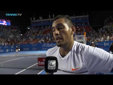 Kyrgios Reflects On Djokovic Win At Acapulco 2017