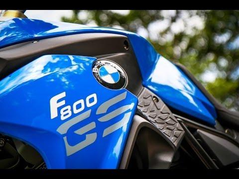 2014 BMW F800GS & R1200GS Equipada para viagem