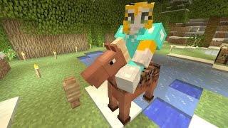 getlinkyoutube.com-Minecraft Xbox - Cave Den - Flying Horse (49)