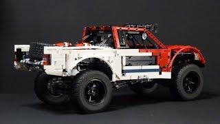 getlinkyoutube.com-LEGO Technic Baja Trophy Truck with SBrick