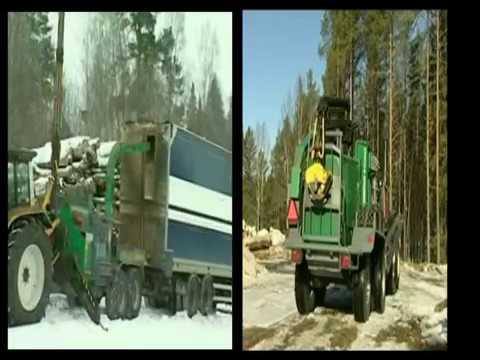 Unitractores | Máquinas florestais - vídeo completo