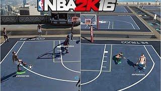 getlinkyoutube.com-NBA 2K16| SHOOTING LIKE CURRY!!! Legend 3 GOES OFF!! MyPark - Prettyboyfredo