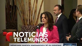 Los mexicanos le exigen a su gobierno que sea más contundente   Noticias   Noticias Telemundo