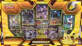 getlinkyoutube.com-Pokemon Cards- Pikachu EX Legendary Collection Box Opening! | SUPER EARLY!