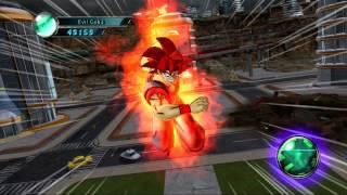 getlinkyoutube.com-Dragon Ball Z Ultimate Tenkaichi Evil Goku vs Great Ape Baby