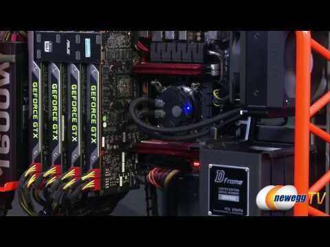Newegg TV: GTX TITAN 4-Way SLI Overclocked & 7680x1600 Benchmarks