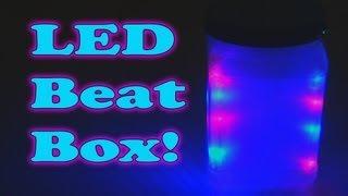 getlinkyoutube.com-LED Beat Box!