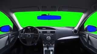 getlinkyoutube.com-Green Screen Car Auto HD - Footage PixelBoom