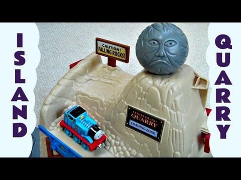 Thomas And Friends Take Along Quarry Island Quarry Kids Toy