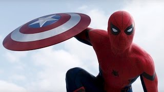 getlinkyoutube.com-Skillet - Hero. Capitão América Guerra Civil/Captain America Civil War. ( Spider Man/Homem Aranha ).