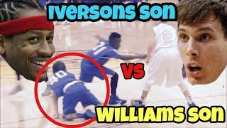 getlinkyoutube.com-ALLEN IVERSONS SON VS JASON WILLIAMS SON!!! WHO IS BETTER??ANKLE BREAKERS!