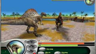 getlinkyoutube.com-Jurassic Park Dinosaur Battles Part 11 Spinosaurus on My Best Savefile