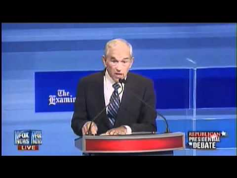 Ron Paul Vs. Rick Santorum on Iran, Santorum Self destructs (8/11/11)