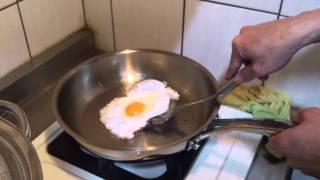 示範影片 - 煎荷包蛋