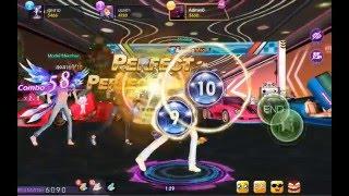 getlinkyoutube.com-Dance Now! - ตัววอย่างโหมด [Bubble Normal] Game play