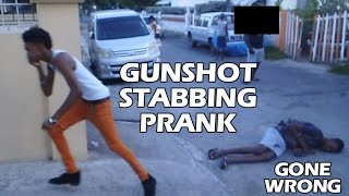 getlinkyoutube.com-GUNSHOT/STABBING PRANK GONE WRONG IN JAMAICA - (HE STOLE MY PHONE) DYING IN THE ROAD