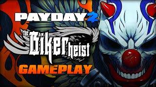 getlinkyoutube.com-PAYDAY 2: The Biker Heist - Gameplay (DRIVABLE MOTORCYCLES!)