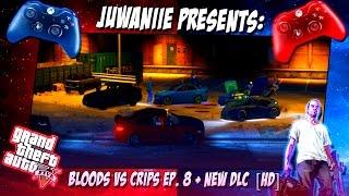 getlinkyoutube.com-GTA 5 | Bloods Vs Crips Ep. 8 + New DLC  [HD]