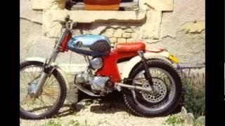 getlinkyoutube.com-Video Modifikasi Motor Antik Klasik Honda S90 Bike Trail