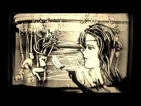 Artesiana 2012- Stefania Bruno e la sand art: il mito di Orfeo ed Euridice - Prima parte