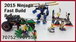 getlinkyoutube.com-2015 Ninjago  speed Build Reivew 70752 to  70755  2015 닌자고 빠른빌드 영상 레고장난감 레고 닌자고