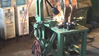 getlinkyoutube.com-automatic chain bending machine & welding machine