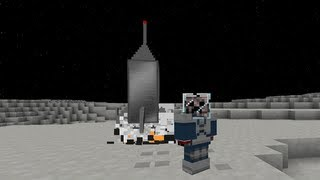 getlinkyoutube.com-Minecraft: GalacticCraft Mod (Raumschiffe und Planeten) + [Download]