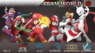 getlinkyoutube.com-2GGT: ZeRo Saga - USA Vs. World - Smash Wii U