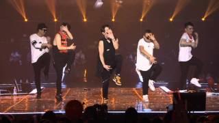 "getlinkyoutube.com-150322 SHINHWA ""WE"" 17th Anniversary Concert - Sniper's changed part"