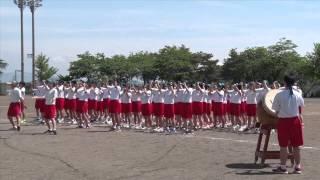 getlinkyoutube.com-西根中学校体育祭  応援合戦!