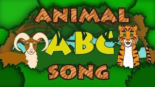 getlinkyoutube.com-ABC ANIMALS SONG Learn ABC Song Animal Songs for Kids Preschool by 123ABCtv