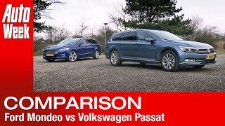 getlinkyoutube.com-Ford Mondeo vs. Volkswagen Passat [2015] - English subtitled