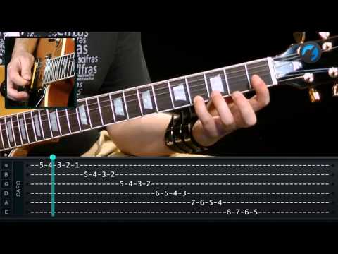 Escala Crom�tica (aula t�cnica de guitarra)