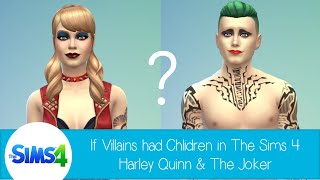 getlinkyoutube.com-If Villains had Children in The Sims 4 - Harley Quinn and the Joker