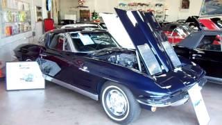getlinkyoutube.com-1963 Corvette Split Window Fuelie 327