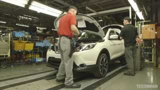 getlinkyoutube.com-2014 Nissan Qashqai Production