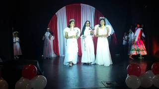 getlinkyoutube.com-Bolton-syro malabar day 2016-welcome dance.with syro malabar title song