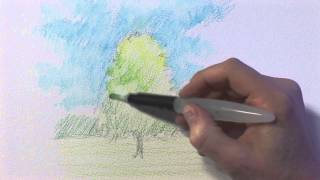 getlinkyoutube.com-Sketching with Watercolour Pencils with Jonathan Newey
