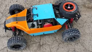 getlinkyoutube.com-Losi DBXL - G290RC - Victory (VRC) vs Bartolone Pipes