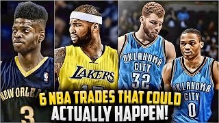getlinkyoutube.com-Top 6 NBA TRADES That Could Actually Happen THIS 2017 SEASON!