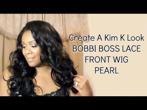 BOBBI BOSS Lace Front Wig ~ Create A Kim K Look