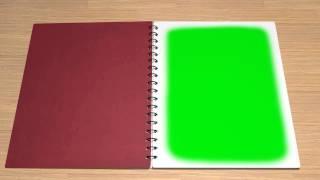 getlinkyoutube.com-Notebook Open and Closed   AlexFreeStockVideo