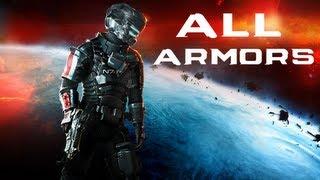 getlinkyoutube.com-Dead Space 3: All Armors