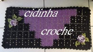 Croche- Tapete Chiquetoso1- Passo A Passo- Tutorial Completo