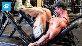 getlinkyoutube.com-Calum Von Moger Eats Breakfast & Legs Workout for Mass | Episode 1