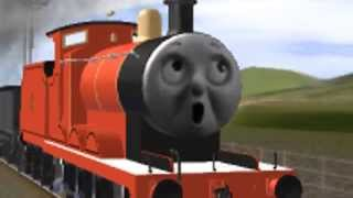 getlinkyoutube.com-Unusual Thomas and Friends Animation - Wreck o' James