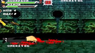 getlinkyoutube.com-OpenBoR games: Mortal Kombat Outworld Assassins playthrough