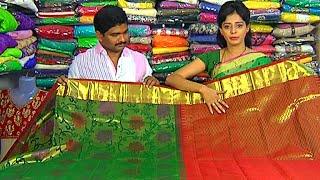 getlinkyoutube.com-Bridal Collection Kanchi Pattu and Fancy Sarees | Sogasu Chuda Tarama | Vanitha TV
