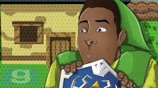 Gmod Prop Hunt - Legend of Zelda, Heart Containers, Epic Bushes!